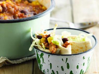 Pitabroodjes met chili