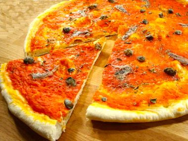 Recept pizza romana
