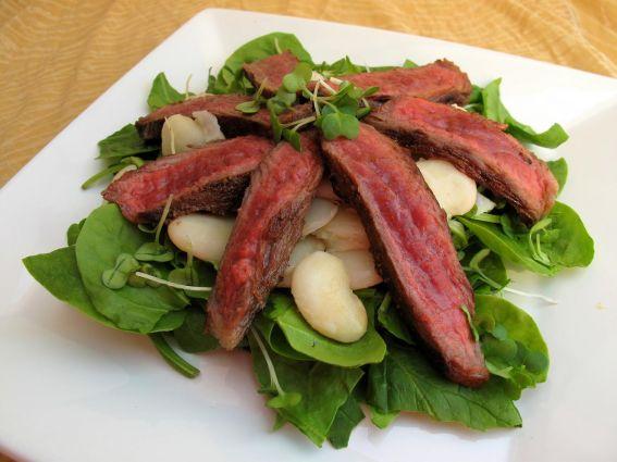 Aziatische biefstukreepjes