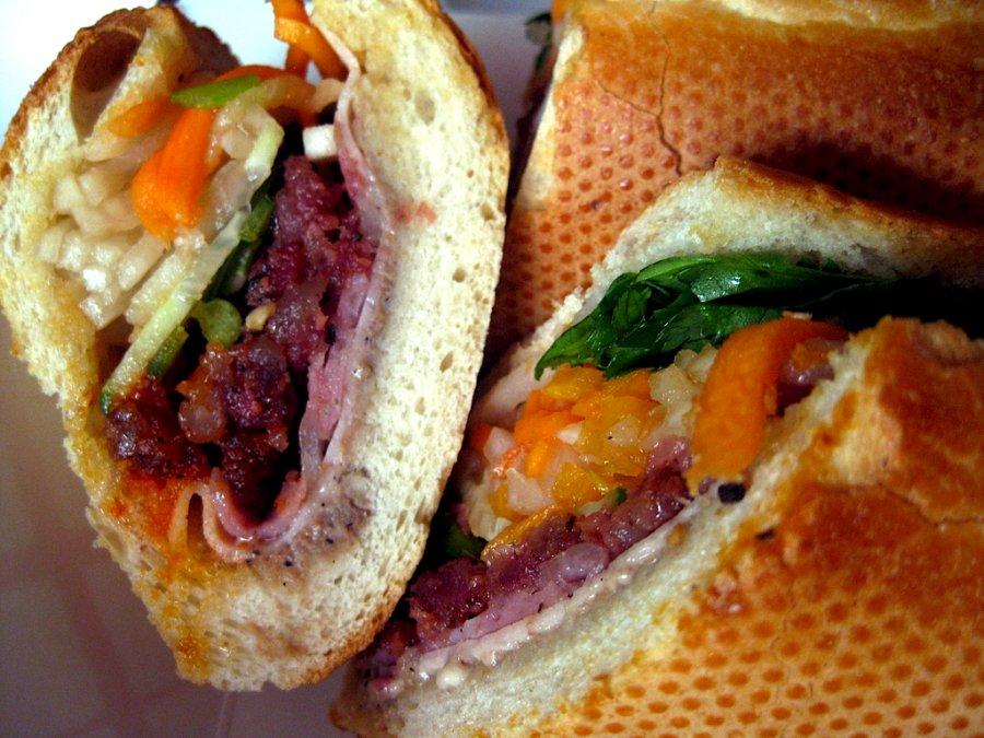 Exotische sandwich