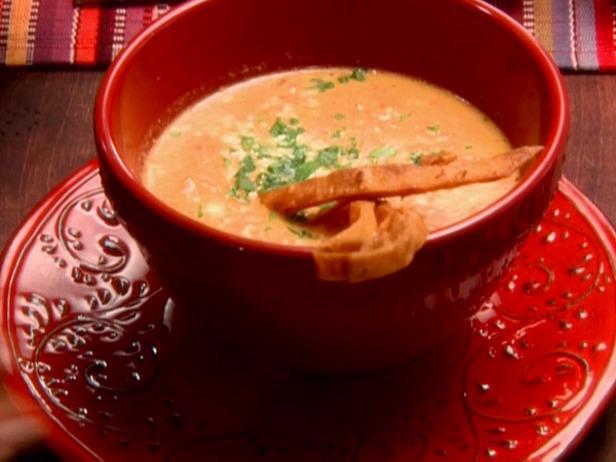 Mexicaanse maissoep