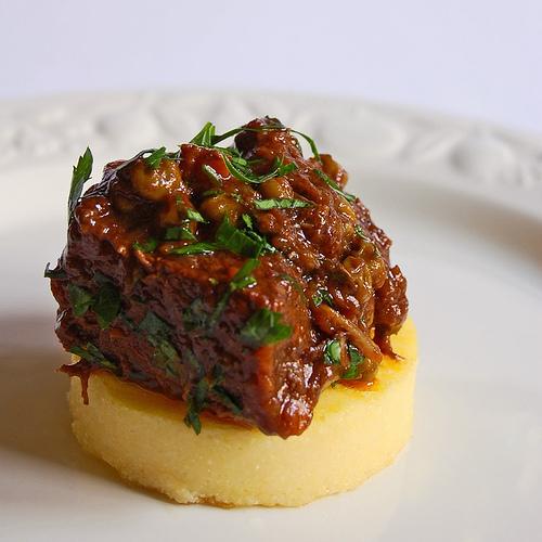 Rundvlees in rode wijn