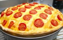Boeren pizza