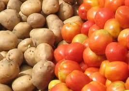 Aardappel tomatentaart