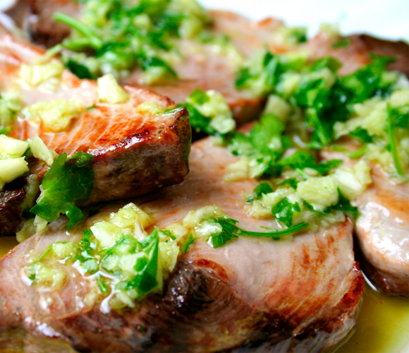 Gemarineerde vis – Escabeche de Atum