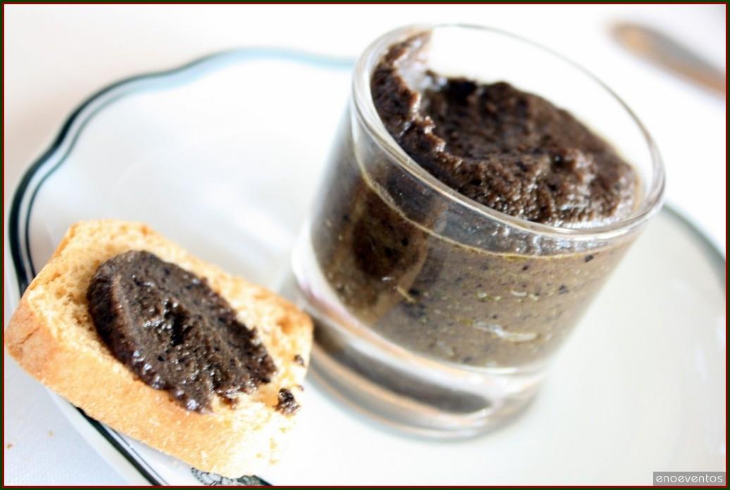Olijventapenade – Pasta de Azeitona Preta