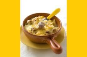 Gegratineerde macaroni