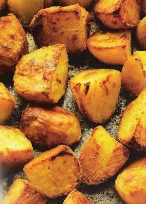 Pittige aardappelen uit de oven