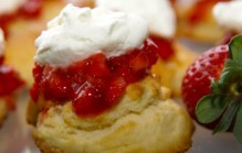 High tea scones