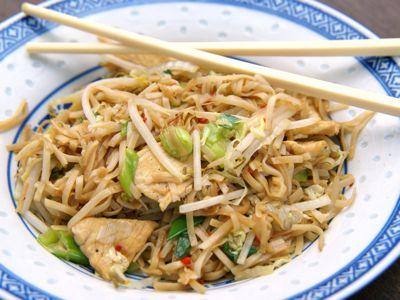 Chinese bami Shanghai