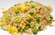Rijst met doperwten