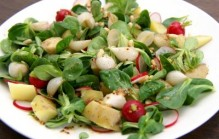 Veldsla salade