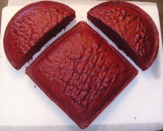 Ongebruikt Een ster- of hartvormige cake - Kookse.tv UH-45