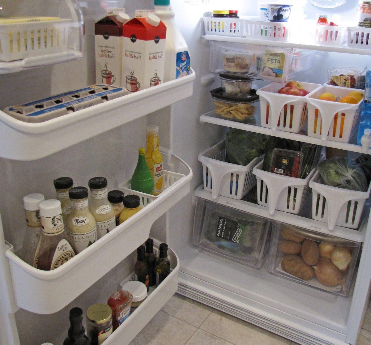 reorganiseren koelkast