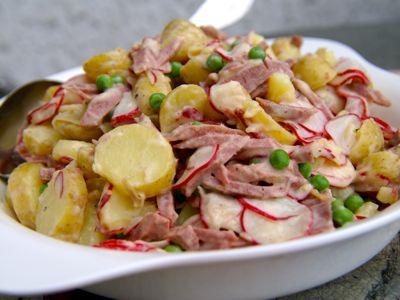 Parijse aardappelsalade
