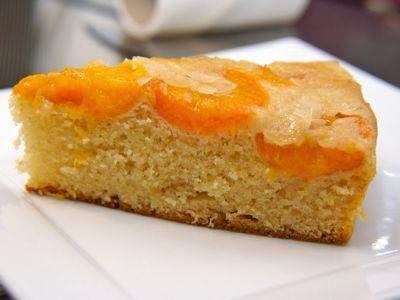 Botercake met abrikozen