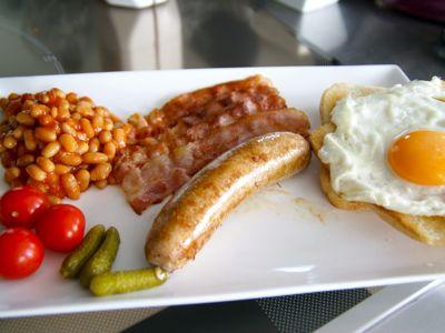 Engels ontbijt maken