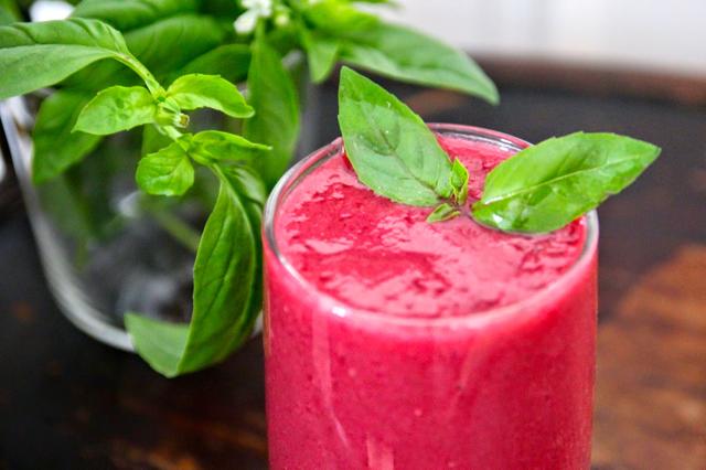Super gezonde rode bieten smoothie