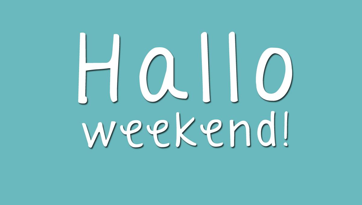 Tips voor het weekend!