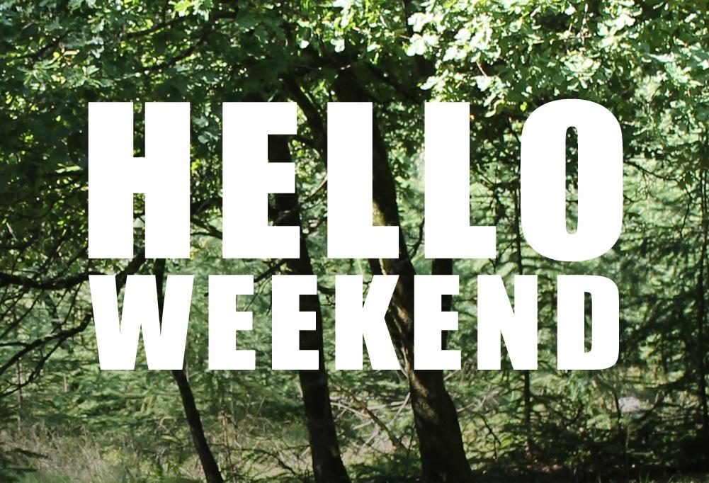 Eerste weekend van september!