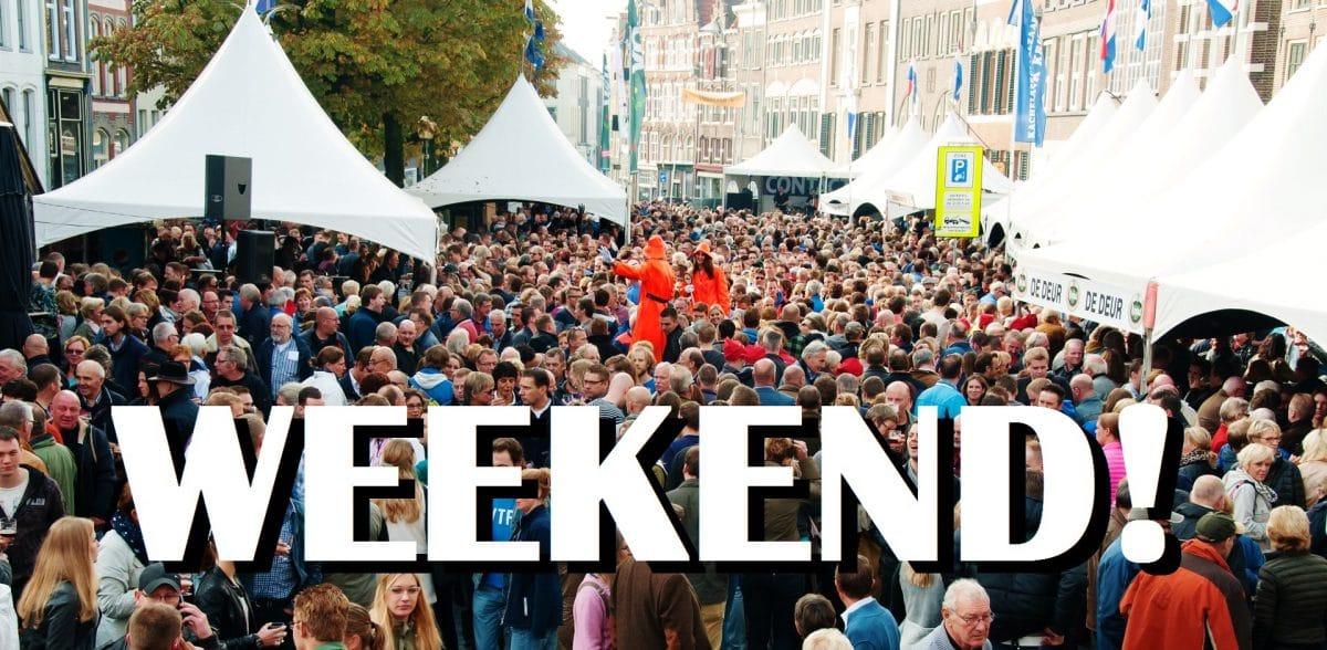 Weekendtips 9 t/m 11 oktober