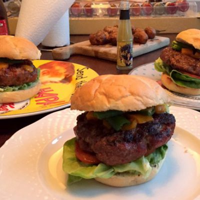 whiskeyburgers - recept video