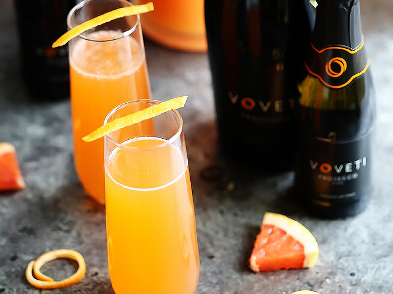 Aperol cocktails met grapefruit