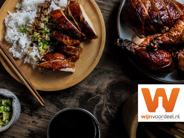 Wijnrecept van de week – Hele kip uit de oven – peking style