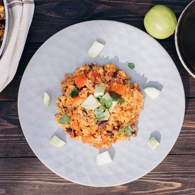 Mexicaanse quinoa schotel - videorecept