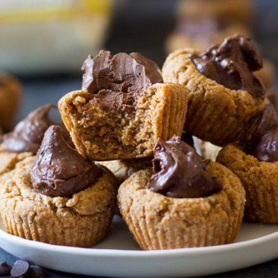 Paleo Chocolade Amandel Cupcakes - recept