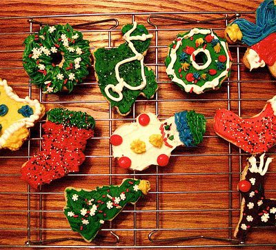 Simpele, prachtige en heerlijke kerstkoekjes.