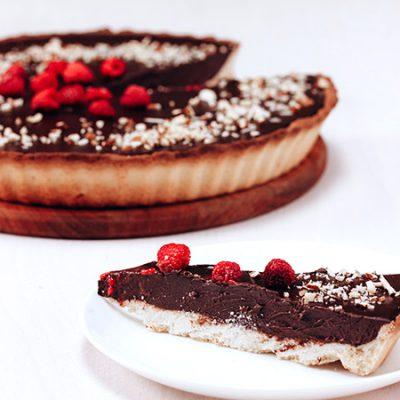 Chocolade truffeltaart - recept met video