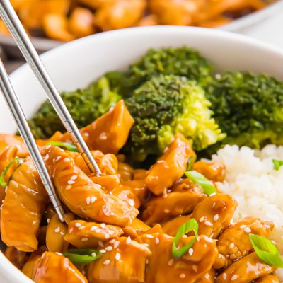 Snelle kip teriyaki | Serveer met bloemkoolrijst en broccoli - Kookse.tv